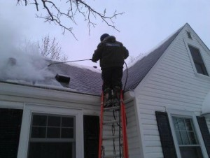 Ice Dam Removal Fridley Mn