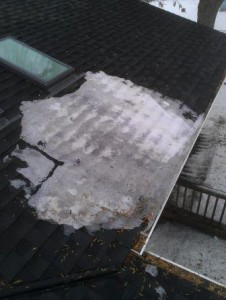 Ice Dam Removal/Steaming Woodbury MN