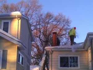 Ice Dam Removal/Steaming Robbinsdale MN
