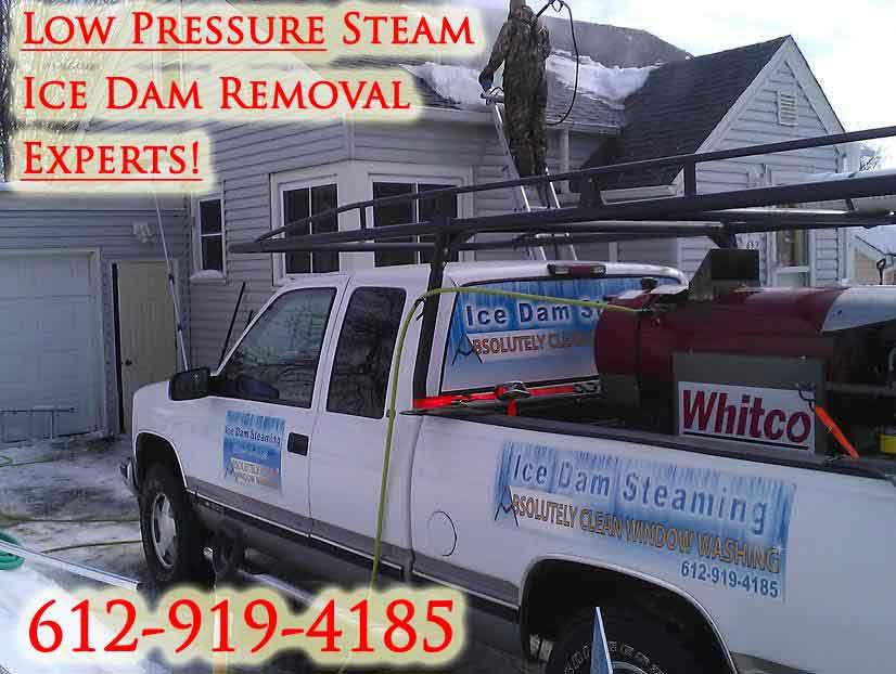 Steam Ice Dam Removal Boston MA