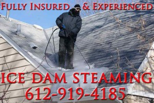Ice Dam Removal/Steaming Minneapolis MN