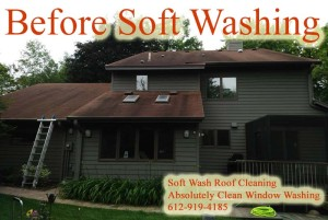 Minneapolis MN Soft Wash Roof Cleaning
