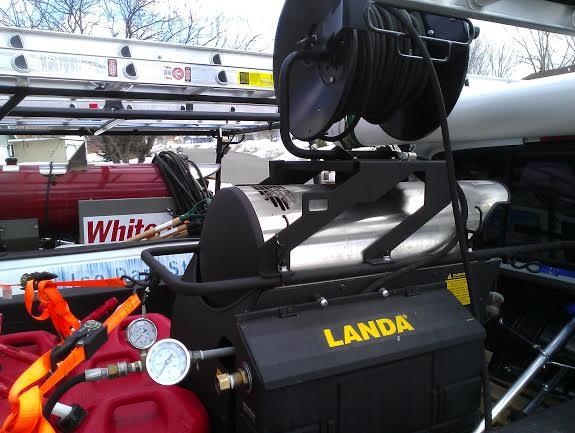 Landa Water Steaming System
