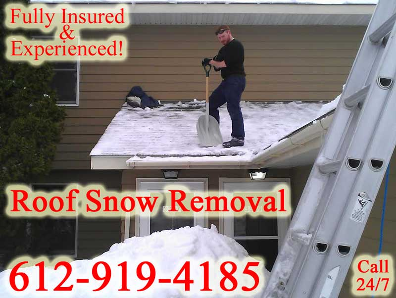Chicago Illinois Roof Snow Removal