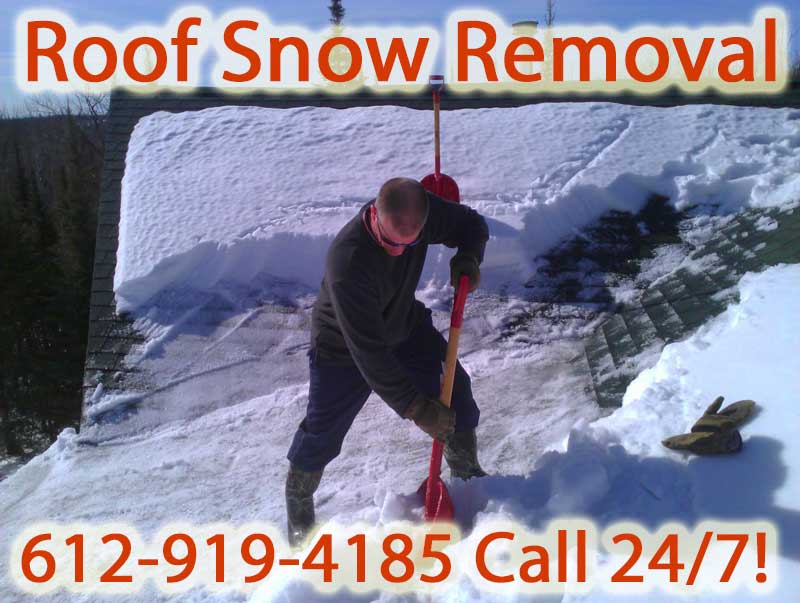 Chicago Illinois Roof Snow Removal Removing Roof Snow