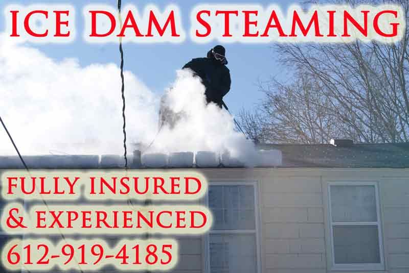 Erie PA Ice Dam Removal