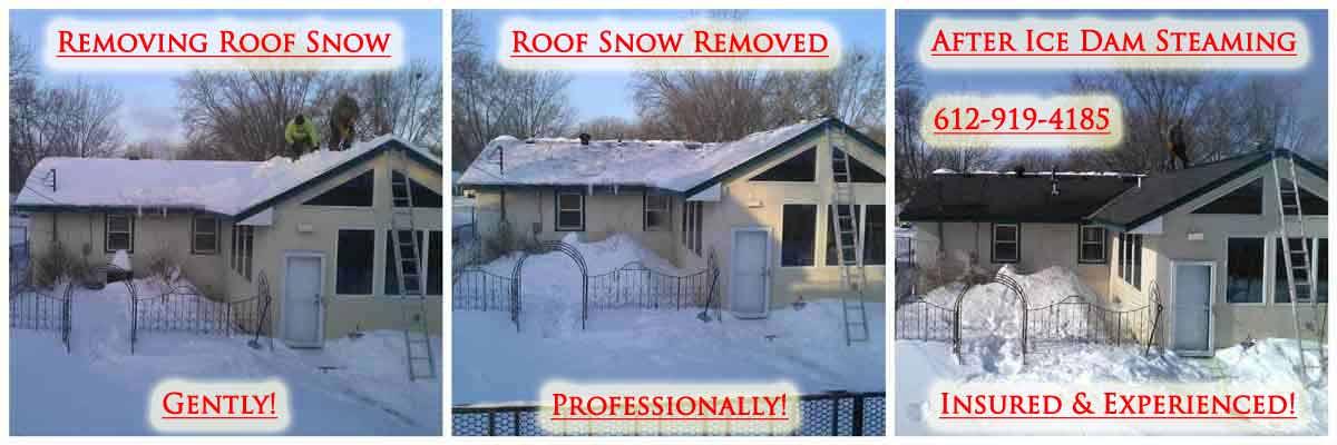 Toronto Ontario Ice Dam Removal & Roof Snow Removal