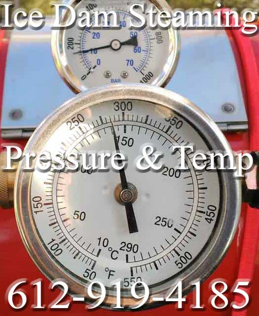 Toronto Ontario-Ice Dam Removal (Steamer With Pressure & Temp Gauges)
