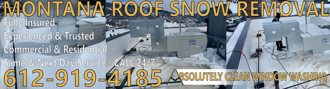 Montana Roof Snow Removal