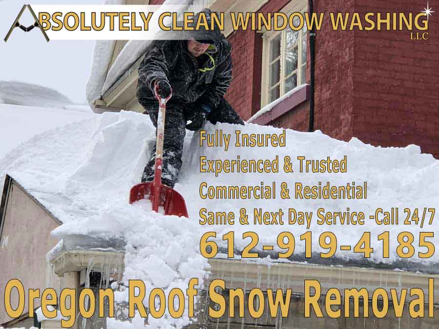 Oregon Roof Snow Removal