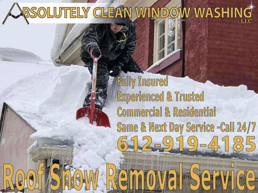Roof Snow Removal Service