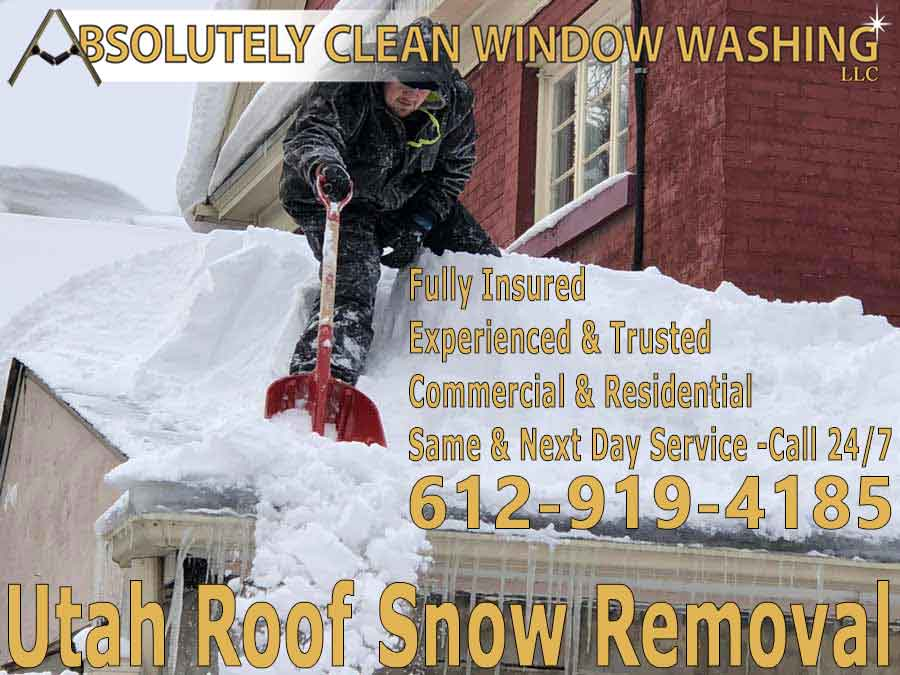 Utah Roof Snow Removal