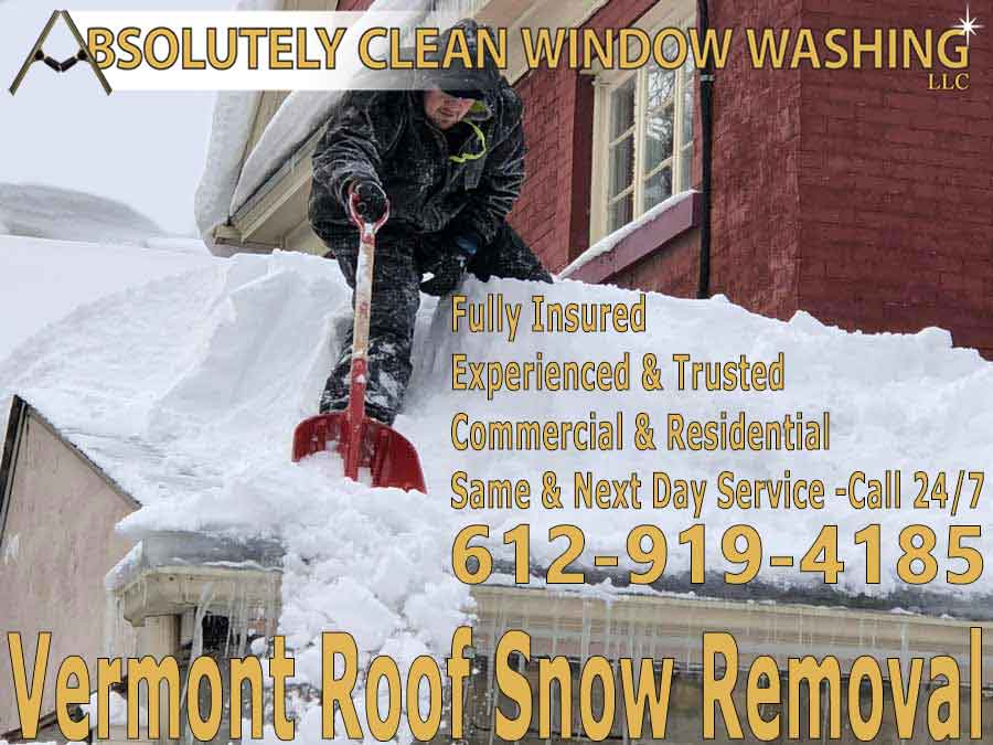 Vermont Roof Snow Removal