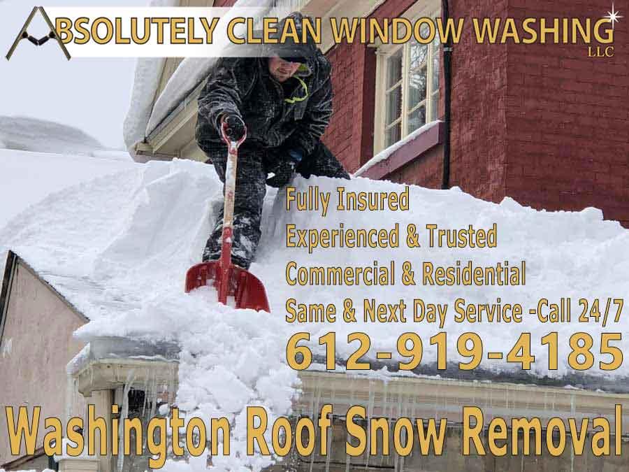Washington Roof Snow Removal
