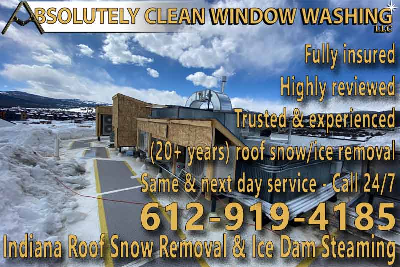 Indiana Roof Snow Removal (Commercial Roof)