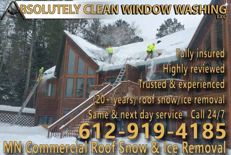 MN Commercial Roof Snow and Ice Removal