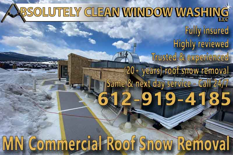 MN Commercial Roof Snow Removal