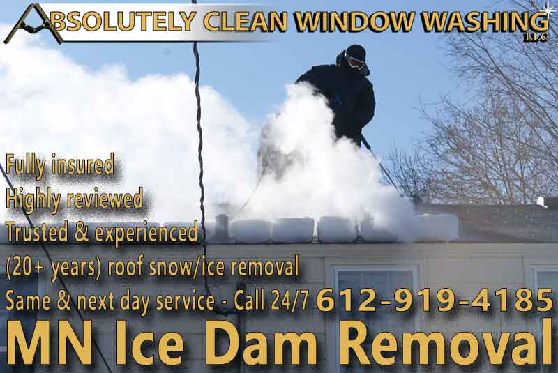 MN Ice Dam Removal