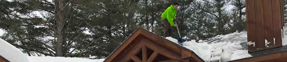 MN Roof Snow Removal & Steam Ice Dam Removal