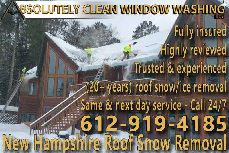 New Hampshire Roof Snow Removal