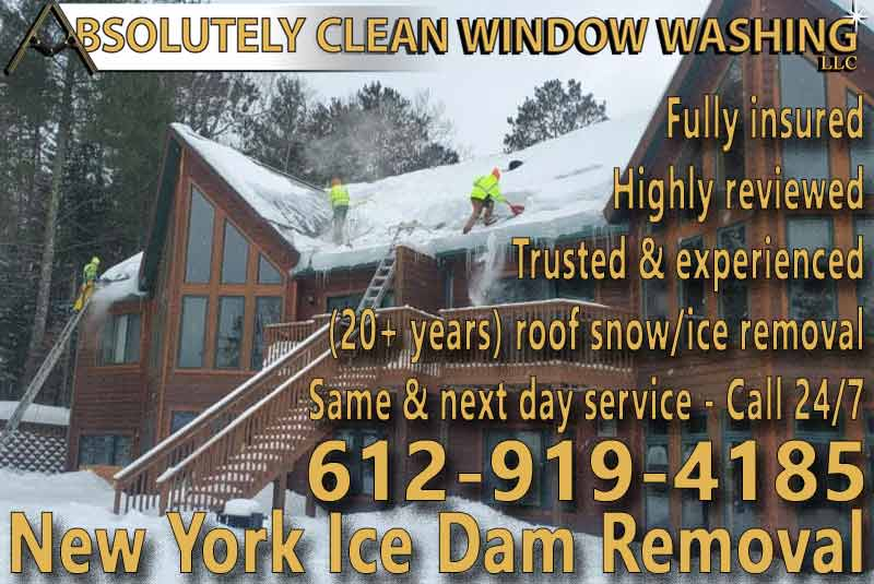 New York Ice Dam Removal