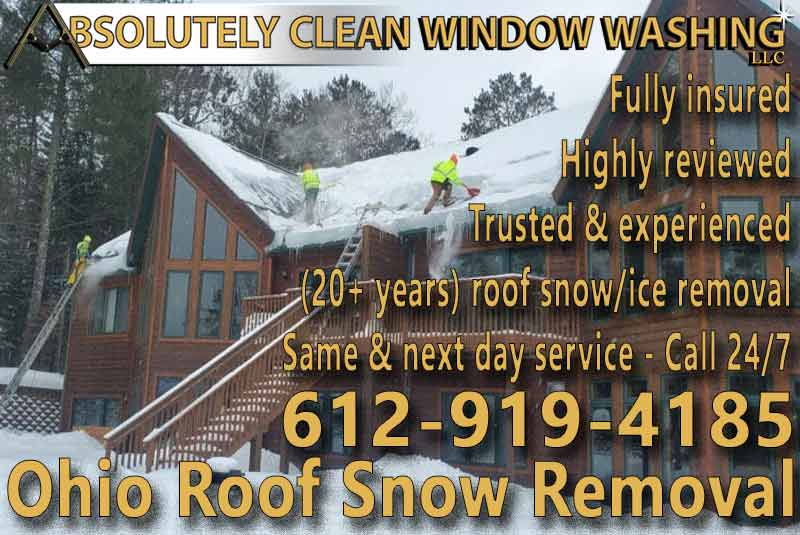 Ohio Roof Snow Removal