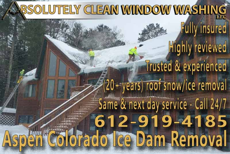 Aspen Colorado Ice Dam Removal