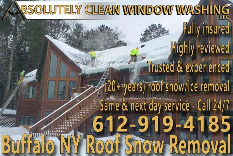 Buffalo NY Roof Snow Removal