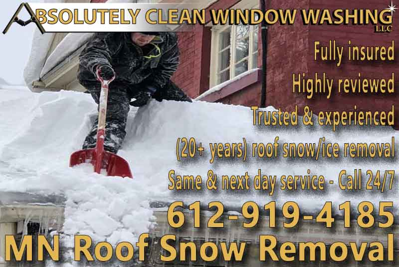 MN Roof Snow Removal