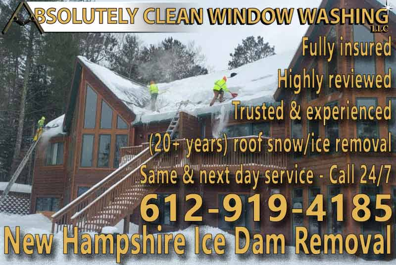 New Hampshire Ice Dam Removal